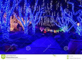 virginia holiday festival walk of lights royalty free stock photo