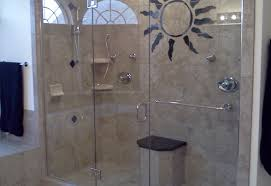shower glass shower enclosures stunning round shower enclosure