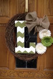 front door wreath ideas 110 best monogram wreath images on pinterest monogram wreath