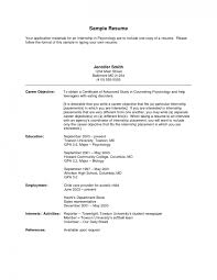 Sample Resume Of Engineering Student by Resume Sample Resumes For College Students Letter To From Format