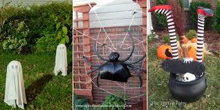 Front Garden Decor 13 Halloween Front Yard Decor Ideas