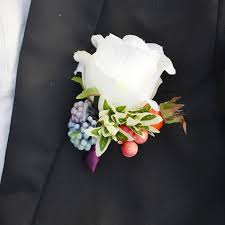 where to buy corsages for prom 1 set 2pcs artificial silk white flower prom corsages wedding