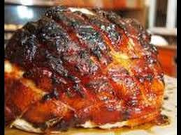 smoked ham recipe glaze