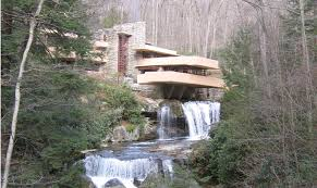 frank lloyd wright waterfall fallingwater architectural masterpiece national endowment for the