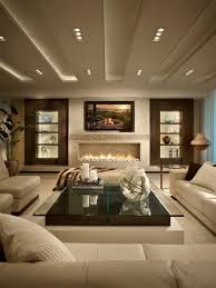 Fireplace Ideas Modern Living Room Wall Mounted Tv And Stone Fireplace Decor Great Room