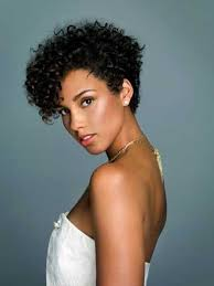 short hairhair straght on back curly on top top 25 short curly hairstyles for black women