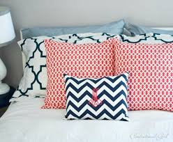 Turquoise And Coral Bedroom Navy Coral Bedroom Centsational Style