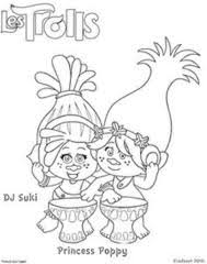 Coloriage Les Trolls Princesse Poppy Kids Pinterest  wiringdesigncom