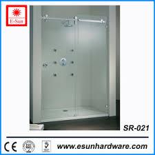Shower Sliding Door Hardware China Designs Stainless Steel Frameless Shower Sliding Door
