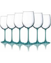 beautiful wine glasses hot memorial day sales on aqua cachet wine glasses with beautiful