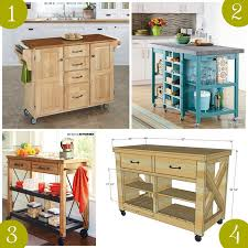 how to build a movable kitchen island rolling kitchen island 25 portable kitchen islands rolling movable