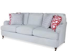 grey twill sofa slipcover grey loveseat slipcover chuck nicklin