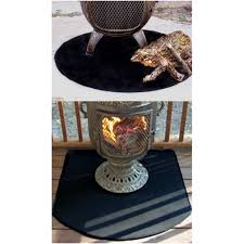 Chiminea On Wood Deck Chiminea Deck Pad Firepit Fire Resistant Deck Pad Product Info