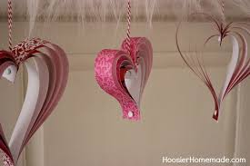 s craft how to make paper hearts hoosier