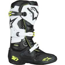 alpinestars tech 3 motocross boots new alpinestars mx 2018 tech 10 fluro black white motocross