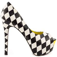 shop black and white shoes at heels com