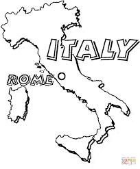 italy rome capital italy coloring free