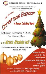 christmas bazaar 2015 the excelsior german center