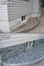 get rid of that ugly concrete wall myhomelookbook exterior