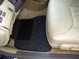 2005 lexus ls430 floor mats my new mud flaps and custom floor mats clublexus lexus forum
