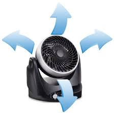 Small Oscillating Desk Fan Ozeri Brezza Ii Dual Oscillating 10 High Velocity