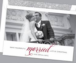 married christmas cards just married cards for newlyweds married christmas cards