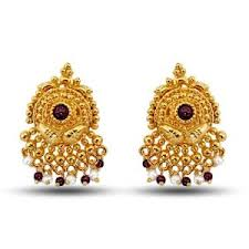 gold earring design with price gold earrings from india all about earrings collections