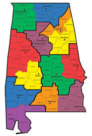 Map Alabama Crs Office Locations