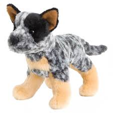 cattle blue heeler clanger plush saltypaws