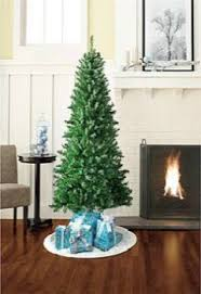 donner pine 6 ft slim artificial tree slim artificial
