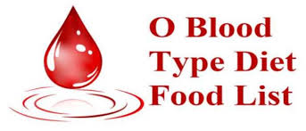 type o blood diet food list top diet com