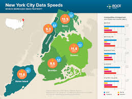 New York Borough Map by Rootmetrics Introduces New Infographic With Borough By Borough