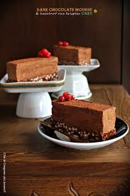 chic u0026 gorgeous treats dark chocolate mousse u0026 hazelnut rice