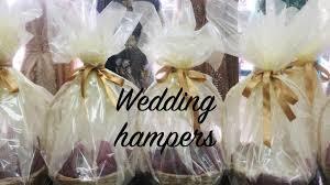 Wedding Gift Basket Diy Wedding Gift Basket How To Make Hampers Youtube