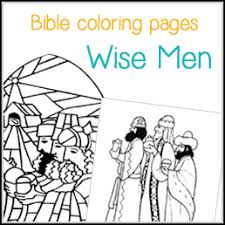 Bible Coloring Pages Wise Worship Coloring Page