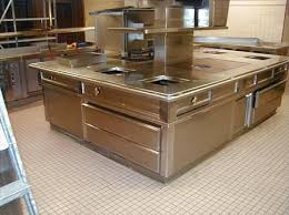 cuisine tout inox fourneaux cuisine piano cuisine central tout inox avec hotte