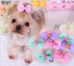 pet products dog grooming bows dog ribbon wholesale hair