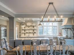 Open Kitchen Dining Room Scandinavian Inspired Gray Kitchen Home Bunch Interior Design Ideas