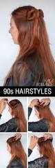 90s normcore hair tutorials u2013 half up double buns hairstyles