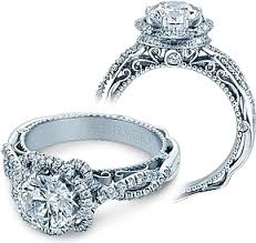 twisted halo engagement ring verragio halo twist engagement ring afn 5051r