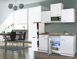 U K Henzeile Respekta Singleküche Miniküche Küche Küchenzeile Weiss 180 Cm