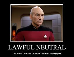 Captain Picard Meme - character alignments jean luc picard is a lawful good character