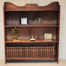 1920s oak open bookshelves antiques atlas