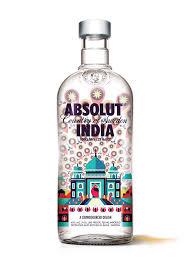 absolut vodka design absolut india bottle design on behance
