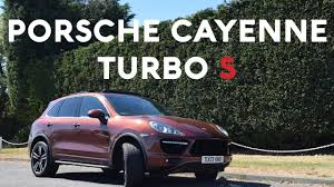 porsche 4x4 cayenne porsche cayenne turbo s review the 2nd fastest 4x4 in the