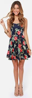 flower dress best 25 summer floral dress ideas on floral dresses