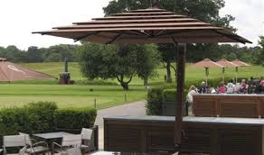 Patio Umbrella Covers Replacement by Patio U0026 Pergola Offset Patio Umbrella Alumunium 2 Wonderful