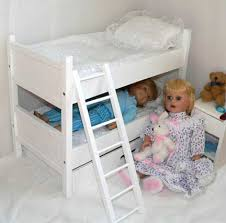 18 Inch Doll Bunk Bed American Doll Furniture 18 Inch Doll Clothes U0026 Trunks Beds