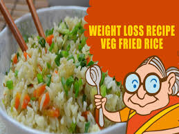 vegetarian recipes for weight loss green vegetable fried rice