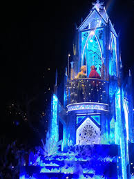Frozen Christmas Light Show by A Disney Dream Come True Wales To Wherever